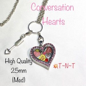 Conversation Hearts HQ Living Locket
